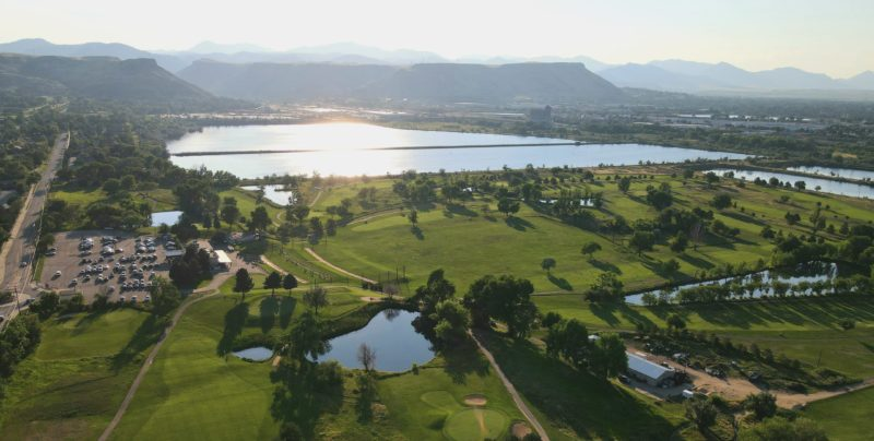 applewood golf course aerial view