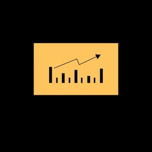 icon of a upwards graph